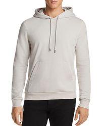 Theory - Essential Hooded Sweatshirt - Lyst