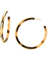 Gorjana - Irina Lucite Hoop Earrings - Lyst