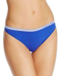 Calvin Klein - Pure Seamless Thong - Lyst