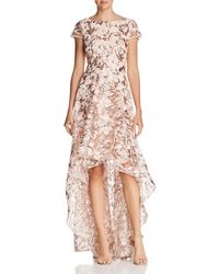 Eliza J - Embellished High/low Gown - Lyst