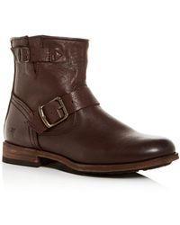 Frye - Women's Tyler Engineer Boots - Lyst