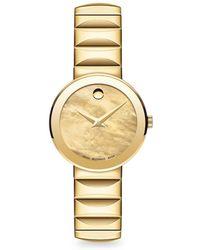 Movado - 'sapphire' Bracelet Watch - Lyst