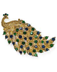 Carolee | Peacock Pin | Lyst
