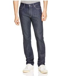 Z Zegna - Blue Denim Slim Fit Stretch Jeans - Lyst