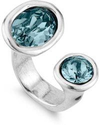 Uno De 50 Alulas Ring - Blue