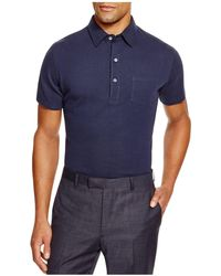 Hardy Amies - Pique Slim Fit Polo - 100% Exclusive - Lyst