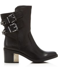 Fergie - Wistful Moto Short Boots - Compare At $159.95 - Lyst