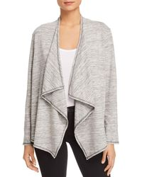 Status By Chenault - Draped Open-front Cardigan - Lyst