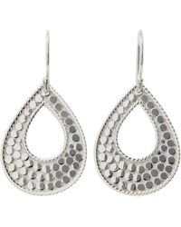 Anna Beck - Sula Open Teardrop Earrings - Lyst