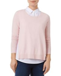 Phase Eight - Madilyn Layered-look Sweater - Lyst