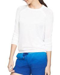 Pink Pony - Lauren Active Mesh Back Sweater - Lyst