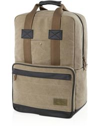 Hex - Convertible Canvas Backpack - Lyst