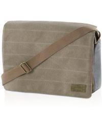 Hex - Canvas Messenger Bag - Lyst
