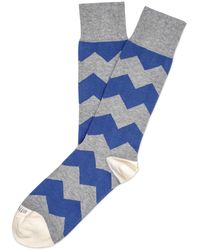 Etiquette - Everest Stripe Socks - Lyst