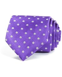 W.r.k. - Polka Dot Print Classic Tie - Lyst