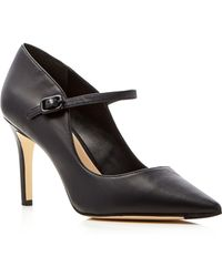 Via Spiga - Camilla Mary Jane Pointed Toe Court Shoes - Lyst