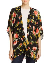 Oober Swank - Floral Open Kimono - Compare At $78 - Lyst
