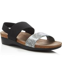 Munro - Pisces Flat Sandals - Lyst