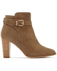Reiss - Imogen Belted Ankle Booties - Lyst