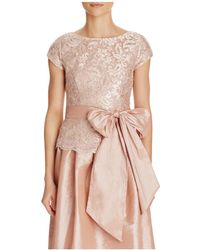 Marina - Embroidered Lace Sequin Top - Compare At $149 - Lyst