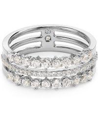 Nadri - Stacked Ring - Lyst