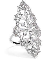 Nadri - Modern Bouquet Ring - Lyst