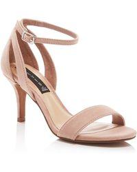 Steven by Steve Madden - Valor Suede Dress High Heel Sandals - Compare At $89 - Lyst