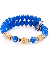 ALEX AND ANI - Ultramarine Adventures Wrap Bracelet - Lyst