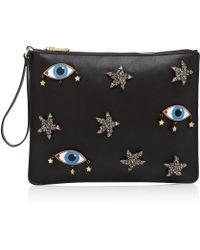 Cynthia Rowley - Embellished Eye Wristlet - Lyst