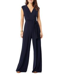 Phase Eight - Penn Belted Jersey Jumpsuit - Lyst