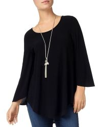 Phase Eight Amelia Curved Hem Top