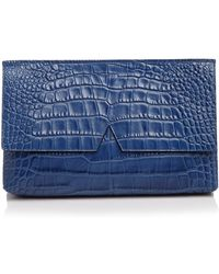 Vince - Clutch - Signature Croc-stamped Medium - Lyst