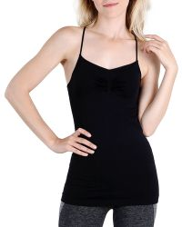 Nikibiki - Ruched Front Strappy Seamless Cami - Compare At $22 - Lyst