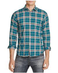 Haspel - Constance Woven Regular Fit Button-down Shirt - Lyst