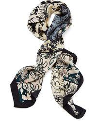 Lafayette 148 New York - Bursting Blooms Silk Scarf - Lyst