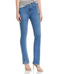 3x1 High - Rise Slit - Hem Flared Jeans In Jaco - Blue