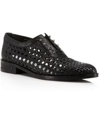 Frēda Salvador - Wish Woven Studded Oxfords - Lyst