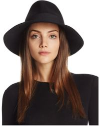 Bettina - Wool Fedora - Lyst