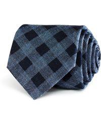 W.r.k. - Donegal Grid Classic Tie - Lyst