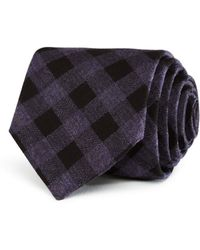 W.r.k. - Donegal Grid Classic Tie - Lyst
