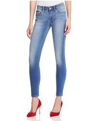 Jean Shop - Heidi Skinny Jeans In Prince - Lyst