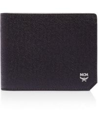 MCM - Bric Small Wallet - Lyst