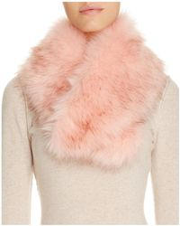 Cara - Faux Fur Collar - Lyst