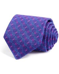 Robert Talbott - Geometric Diamond Abstract Classic Tie - Lyst