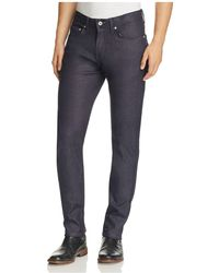 Naked & Famous - Weird Guy Motion Slim Fit Jeans In Indigo - Lyst
