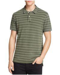 Haspel - Silverton Tonal Stripe Regular Fit Polo Shirt - Lyst