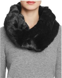 Badgley Mischka - Faux Fur Neck Warmer - Lyst