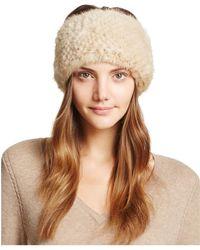 Maximilian - Knit Mink Fur Headband - 100% Exclusive - Lyst
