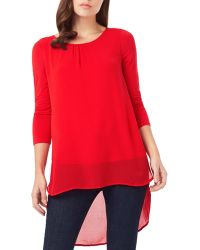 Phase Eight - Bonnie High/low Blouse - Lyst
