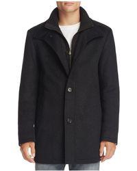 BOSS Green - Coxtan Layered Wool Blend Coat - Lyst